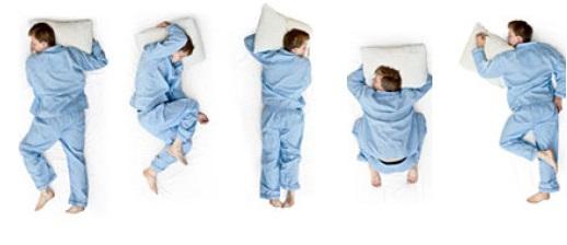 Poduszka do spania Paris polecana jest osobom, które śpiąc bardzo często zmieniają pozycje ułożenia