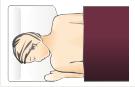 Spanie na brzuchu wymaga dobrania specjalnej poduszki. Model Max Plus idealnie się nadaje do spania na brzuchu