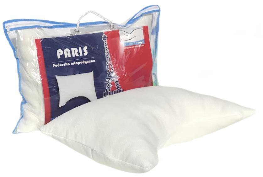 Poduszka do spania Paris Memory Comfort to idealna propozycja dla śpiących w różnych pozycjach. Dzięki wypełnieniu można ją dowolnie kształtować