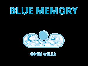 Symbol pianki Blue Memory