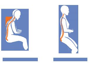 Krzesło które wymusza właściwą postawę kręgosłupa. Nie będziesz się już garbił i narażał postawy na złe nawyki