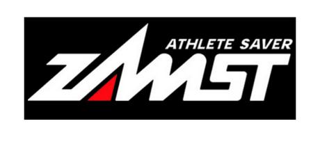 Logo japońskiej marki produkującej najlepsze na świecie ortezy ZAMST