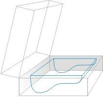 Obraz przedstawia formę do odlewania poduszek ortopedycznych do spania