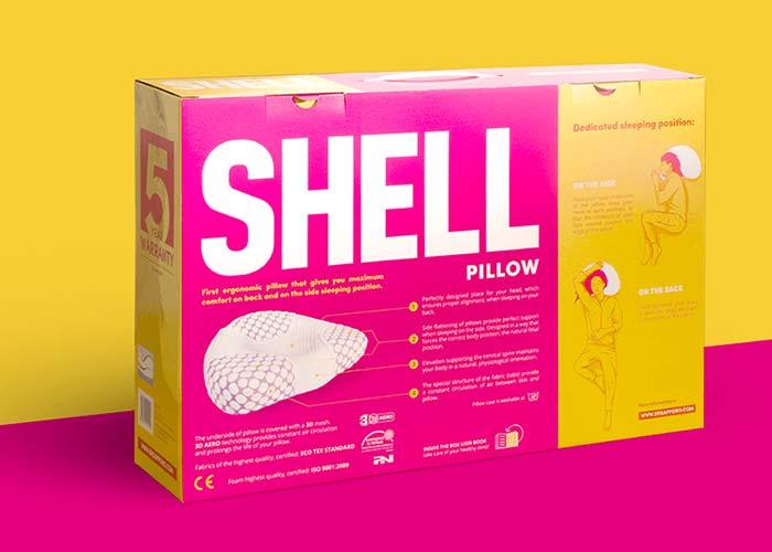 SHELL-poduszka-ortopedyczna-opakowanie