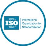 logo organizacji ISO. Znak ISO13485: 2003
