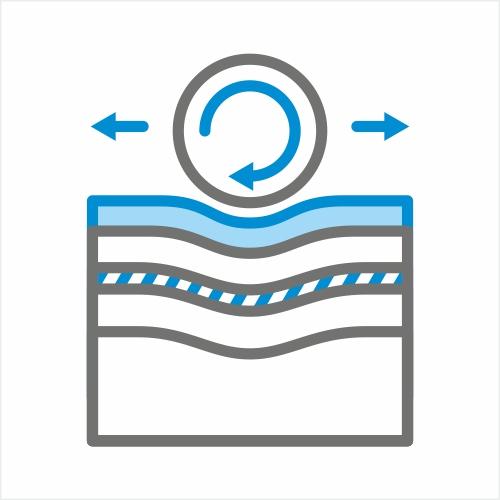 Materac do łóżka powinien mieć warstwę po której łatwo nam będzie zmienić pozycję