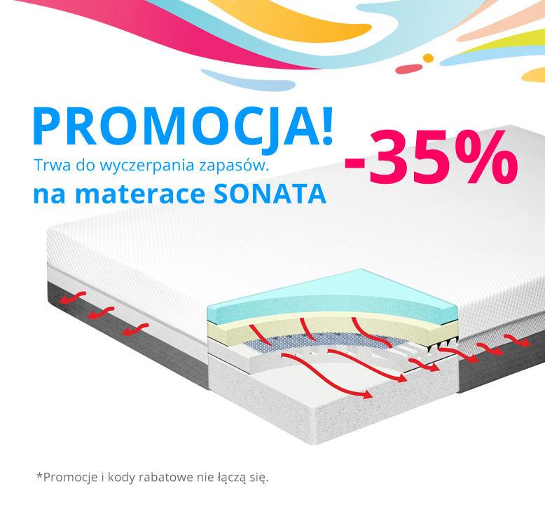 Super promocja -35% na materac do spania od Dr Sapporo