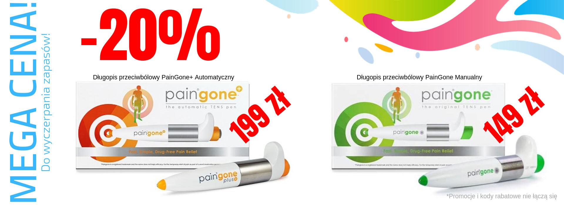 Długopis przeciwbólowy PainGone w super promocji