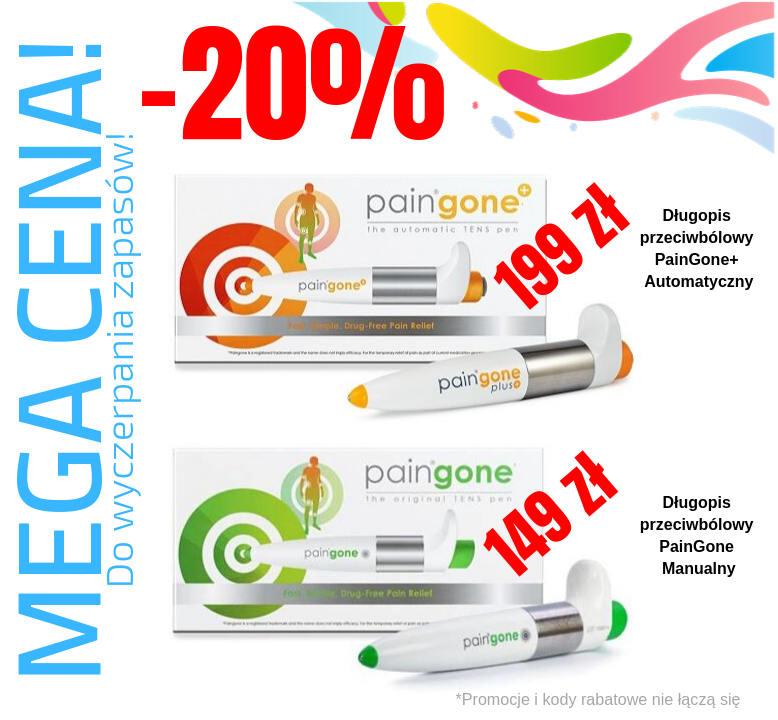 Tylko teraz zakupisz skuteczne urządzenie przeciwbólowe PainGone+ Automatyczny za 199 zł!!