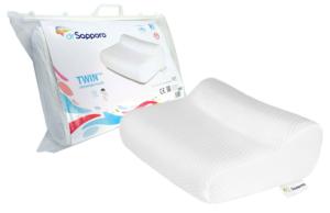 Poduszka Twin Plus od Dr Sapporo na idealny sen. Pozycja spania na boku