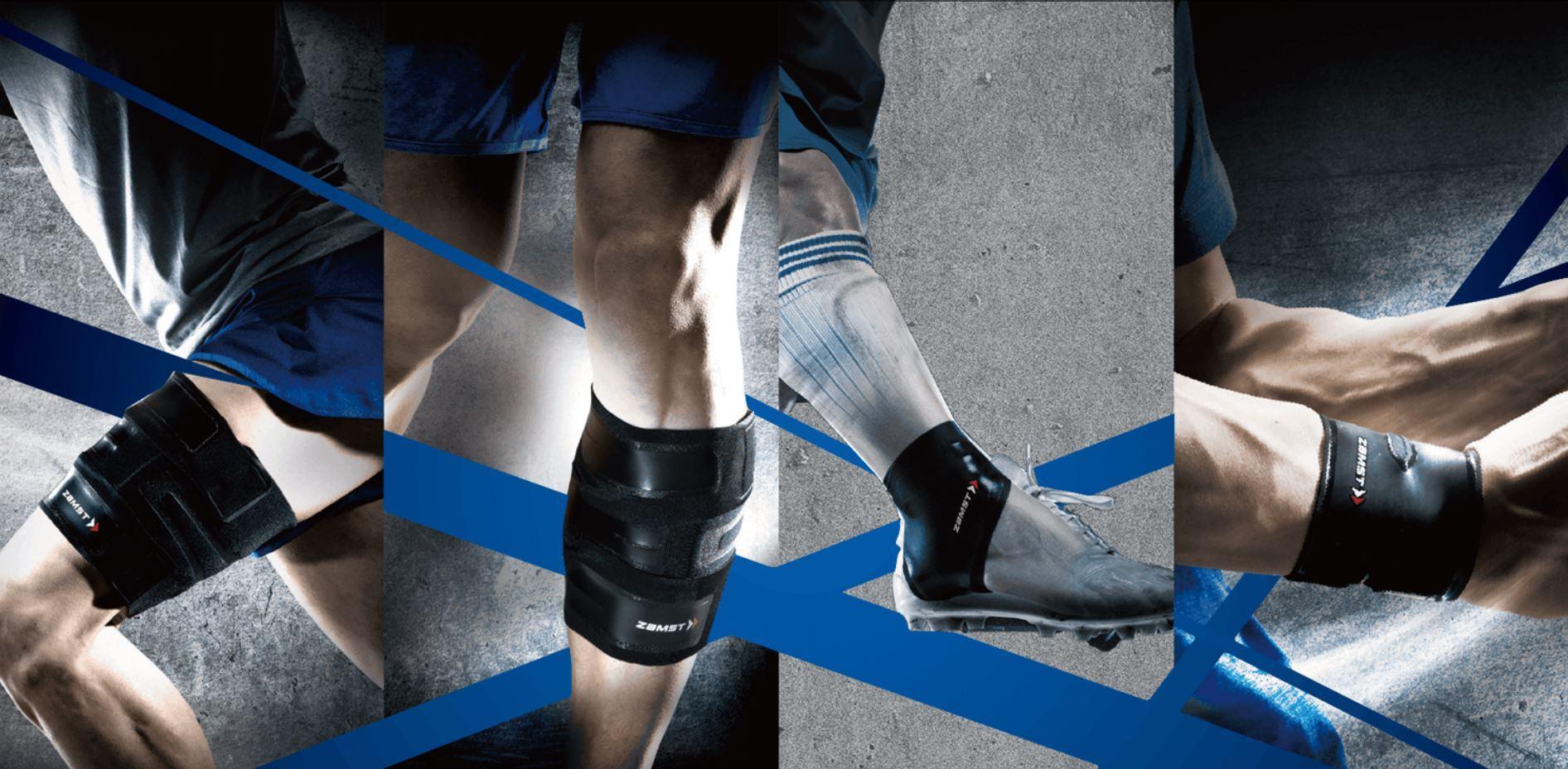 Firma ZAMST to lider w projektowaniu i produkowaniu najlepszych na świecie ortez i sprzętu ochronnego dla sportowców