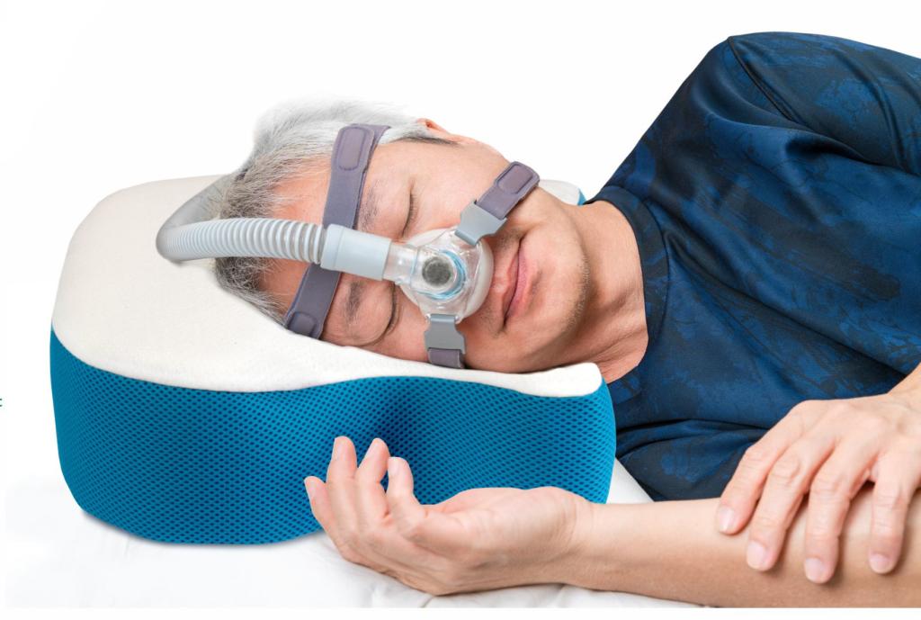 Poduszka ortopedyczna CPAP do spania z bezdechem sennym